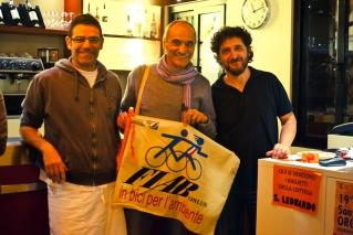 Il Barone Rosso e Fabio Masotti della FIAB (2012 © Luca Marangon)