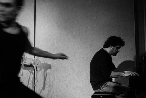 il mimo e il pianista